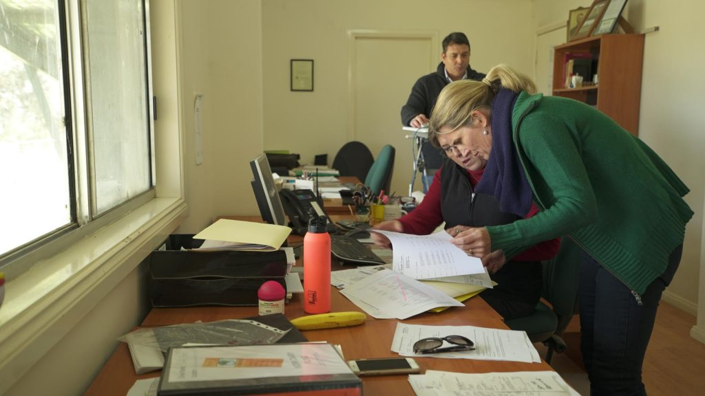 Farms have paperwork too!